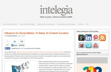 http://www.intelegia.com/en/2012/05/04/influence-on-social-media-10-steps-to-content-curation/