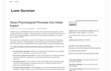 http://www.lonegunman.co.uk/2009/12/02/seven-psychological-principles-con-artists-exploit/