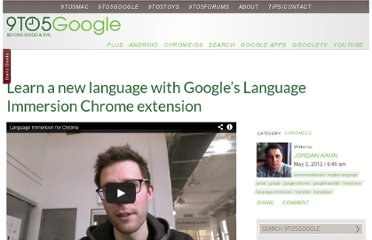 http://9to5google.com/2012/05/03/learn-a-new-language-with-googles-language-immersion-chrome-extension/