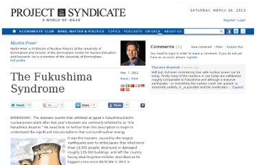 http://www.project-syndicate.org/commentary/the-fukushima-syndrome
