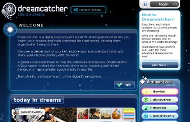 http://dreamcatcher.net/today