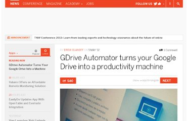 http://thenextweb.com/apps/2012/05/05/gdrive-automator-turns-your-google-drive-into-a-productivity-machine/