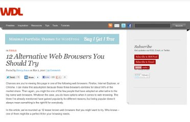 http://webdesignledger.com/tools/12-alternative-web-browsers-you-should-try