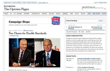 http://campaignstops.blogs.nytimes.com/2012/03/12/two-cheers-for-double-standards/#