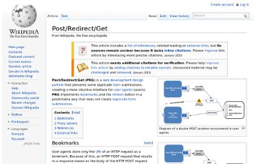 http://en.wikipedia.org/wiki/Post/Redirect/Get