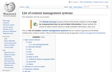 http://en.wikipedia.org/wiki/List_of_content_management_systems