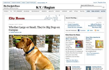 http://cityroom.blogs.nytimes.com/2011/02/01/whether-large-or-small-theyre-big-dogs-on-campus/