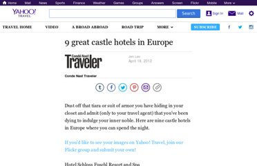 http://travel.yahoo.com/ideas/9-great-castle-hotels-in-europe.html
