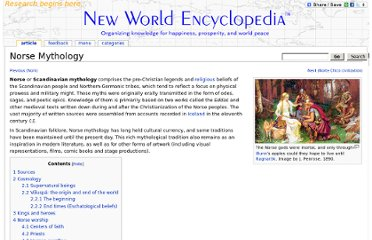http://www.newworldencyclopedia.org/entry/Norse_Mythology