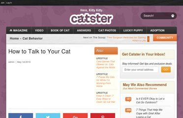 http://www.catster.com/cat-behavior/how-to-talk-to-your-cat