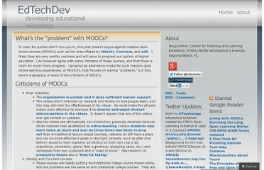 http://edtechdev.wordpress.com/2012/05/04/whats-the-problem-with-moocs/