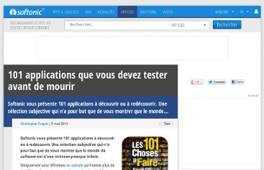 http://onsoftware.softonic.fr/101-applications-que-vous-devez-tester-avant-de-mourir