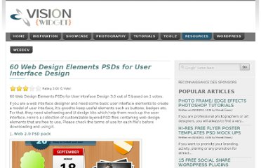http://visionwidget.com/web-design-elements-psds-for-user-interface-design.html