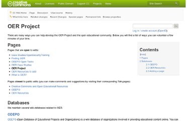 http://wiki.creativecommons.org/OER_Project