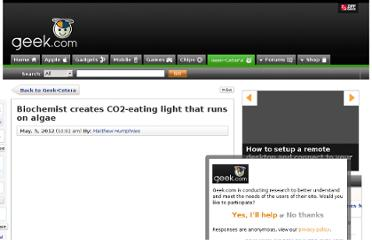 http://www.geek.com/articles/geek-cetera/biochemist-creates-co2-eating-light-that-runs-on-algae-2012055/