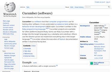 http://en.wikipedia.org/wiki/Cucumber_(software)