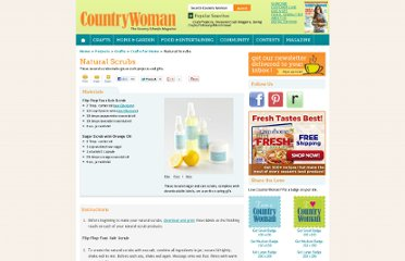 http://www.countrywomanmagazine.com/project/natural-scrubs/