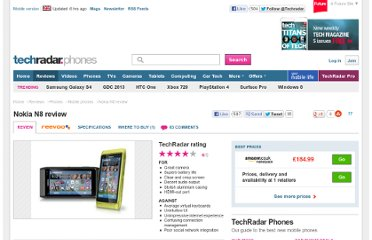 http://www.techradar.com/reviews/phones/mobile-phones/nokia-n8-692448/review