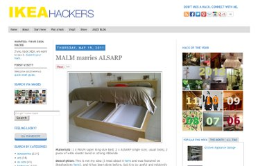 http://www.ikeahackers.net/2011/05/malm-marries-alsarp.html
