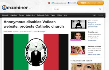 http://www.examiner.com/article/anonymous-disables-vatican-website-protests-catholic-church