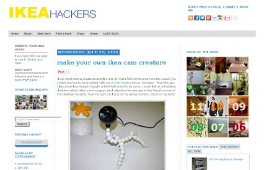 http://www.ikeahackers.net/2006/07/make-your-own-ikea-cam-creature.html