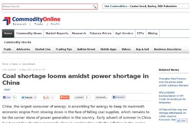 http://www.commodityonline.com/news/coal-shortage-looms-amidst-power-shortage-in-china-38927-3-38928.html