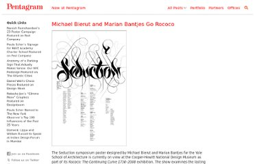 http://new.pentagram.com/2008/04/michael-bierut-and-marian-bant/