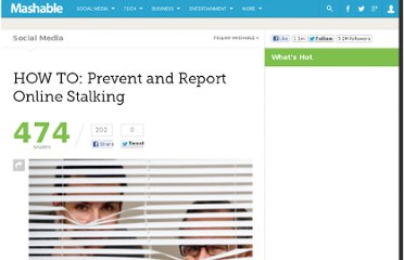http://mashable.com/2010/04/14/how-to-prevent-online-stalking/