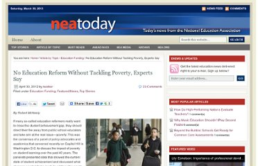 http://neatoday.org/2012/04/30/no-education-reform-without-tackling-poverty-experts-say/