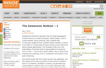 http://www.insidehighered.com/views/2012/05/03/essay-value-intense-discussion-based-instruction