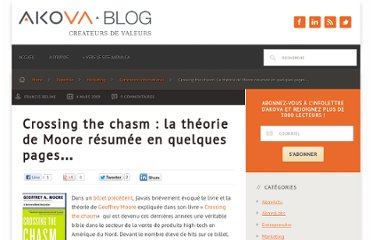 http://blog.akova.ca/2009/03/crossing-the-chasm-la-theorie-de-moore-en-quelques-mots/