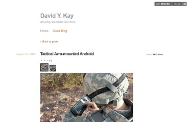 http://blog.davidykay.com/tactical-arm-mounted-android