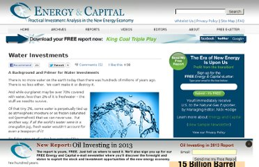 http://www.energyandcapital.com/resources/water-investments