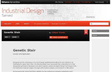 http://www.industrialdesignserved.com/gallery/Genetic-Stair/1707447