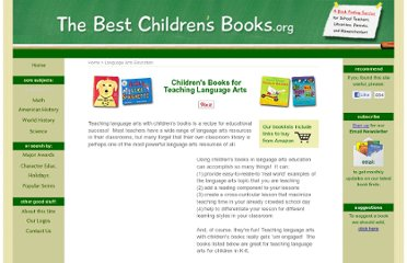 http://www.the-best-childrens-books.org/teaching-language-arts.html