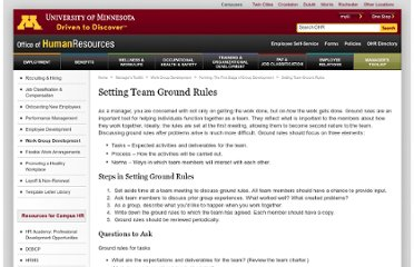 http://www1.umn.edu/ohr/toolkit/workgroup/forming/rules/index.html