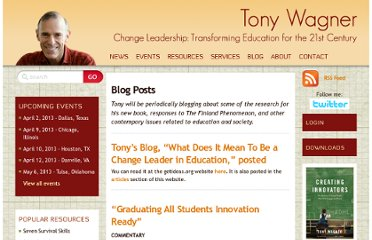 http://www.tonywagner.com/category/blogposts