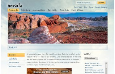 http://travelnevada.com/things-to-do/parks/