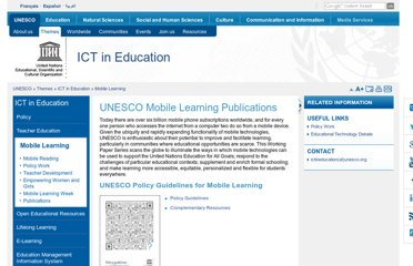 http://www.unesco.org/new/en/unesco/themes/icts/m4ed/mobile-learning-resources/unescomobilelearningseries/