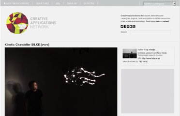 http://www.creativeapplications.net/vvvv/kinetic-chandelier-silke-vvvv/