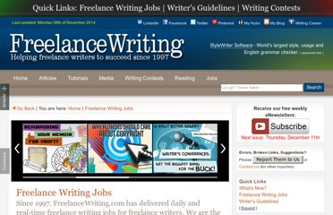 http://www.freelancewriting.com/freelance-writing-jobs.php