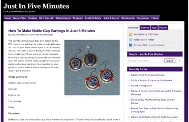 http://www.justin5mins.com/how-to-make-bottle-cap-earrings-in-just-5-minutes/
