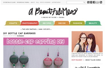 http://abeautifulmess.typepad.com/my_weblog/2010/06/diy-bottle-cap-earrings.html