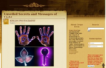 http://unveiledsecretsandmessagesoflight.blogspot.com/2009/11/kirlian-photography.html