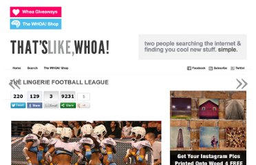 http://thatslikewhoa.com/the-lingerie-football-league/