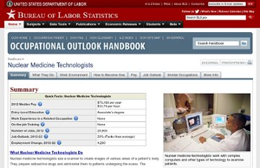 http://www.bls.gov/ooh/Healthcare/Nuclear-medicine-technologists.htm