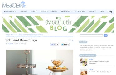 http://blog.modcloth.com/2011/05/02/diy-tiered-dessert-trays/#more-32586