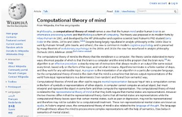 http://en.wikipedia.org/wiki/Computational_theory_of_mind