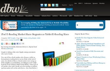 http://www.digitalbookworld.com/2012/ipad-e-reading-market-share-stagnates-as-tablet-e-reading-rises/