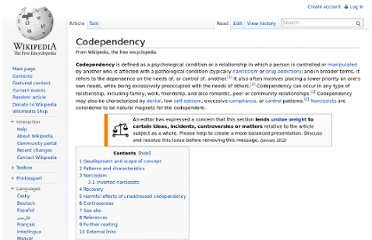 http://en.wikipedia.org/wiki/Codependency